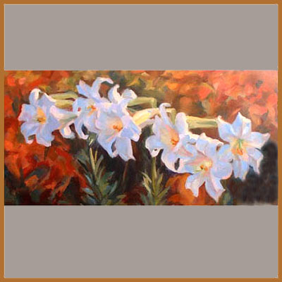 See more flower paintings by Diana Tetlow
